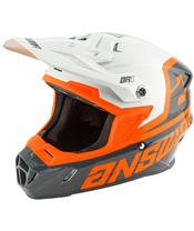 ANSWER AR1 Voyd Junior Helm Charcoal/Gray/Orange Größe
