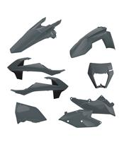 Kit plásticos Enduro Polisport Nardo Grey KTM EXC/EXC-F