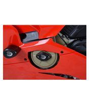 R&G RACING Motorgehäuse-Sturzpad schwarz Ducati Panigale V4