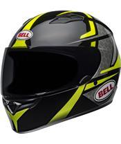 BELL Qualifier Helmet Flare Gloss Black/Hi Viz