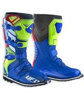 UFO Avior Boots Blue/Yellow/Red