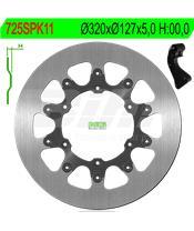 Disco de travão NG 725SPK11 Ø320 x Ø127 x 5