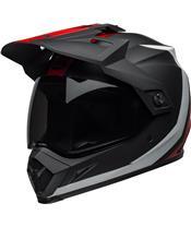BELL MX-9 Adventure Mips Helmet Switchback Matte Black/Red/White