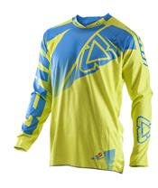 LEATT GPX 4.5 Lime/Blue Jersey