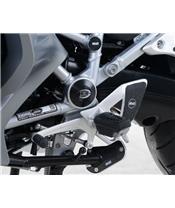 Insert de cadre / pivot bras oscillant R&G RACING noir BMW R1200RT