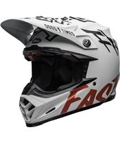 BELL Moto-9 Flex Helmet Fasthouse WRWF Matte Gloss White/Red