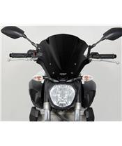 "MRA Racing ""NRM"" windscherm zwart Yamaha MT-07"