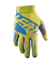 Gants LEATT GPX 2.5 X-Flow jaune/bleu Taille M (EU8 - US9)