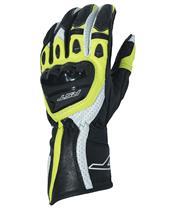 RST R-18 CE handschoenen leer fluo geel her