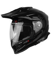 Casque JUST1 J34 Adventure Solid noir brillant