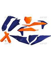 Kit plastiques UFO Edition Limitée orange/bleu KTM SX/SX-F