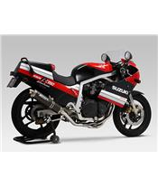 Yoshimura Cyclone Street Sport carbon full exhaust system Suzuki GSX-R1100