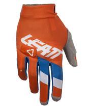 LEATT GPX 3.5 Lite Gloves Orange/Denim Size S/EU7/US8
