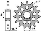 Ritzel 17 Zähne PBR für KTM