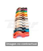 Brida con soporte para retrovisor para Bomba de freno para Harley. Color NEGRO. (MDC6HB)