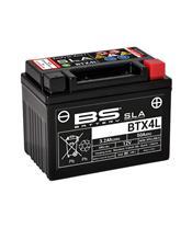 Batterie BS BATTERY BTX4L SLA sans entretien activée usine