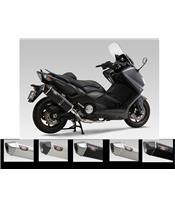 Compleet uitlaatsysteem Yoshimura Hepta Force metal magic/rvs Yamaha TMax 530