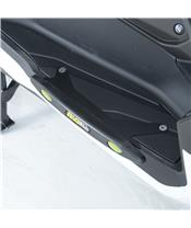 R&G RACING Footboard Slider Black Yamaha X-Max 400
