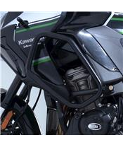 R&G RACING Adventure Bars Black Kawasaki Versys 1000