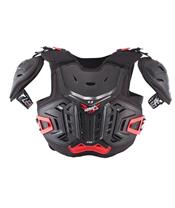 LEATT 4.5 Chest Protector Pro Black/Red Size Junior 147-159cm