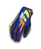 UFO Blaze Gloves Blue/Yellow/Red Size M