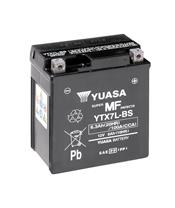 YUASA YTX7L-BS Battery Maintenance Free Delivered with Acid Pack