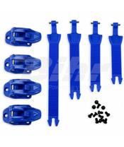 Kit completo fixação Botas Avior/Elektron/Obsidian Azul BR040C