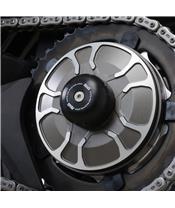 R&G RACING Swingarm Protection Black Kawasaki H2 SX