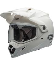 Casque BELL MX-9 Adventure Mips Gloss White