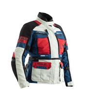 RST Adventure CE Textile Jacket Ice/Blue/Red Size X