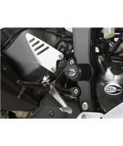 R&G RACING Aero Crash Protectors Black Kawasaki ZX6R 636