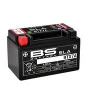 Batterie BS BATTERY BTX7A SLA sans entretien activée usine