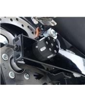 Protections de bras ocillant R&G RACING noir Harley Davidson Street 750