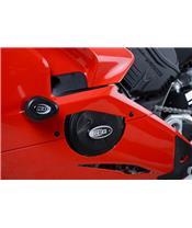Couvre-carter d'alternateur R&G RACING noir Ducati Panigale V4/V4S