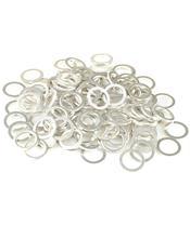Arruela alumínio 10X14X1,5 saco de 100 peças R100140GA/100