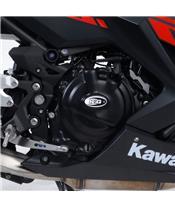 Couvre-carter droit R&G RACING Black Kawasaki Ninja 400