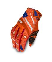UFO Trace Gloves Neon Orange/Blue Size XL