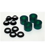 XTRIG PHDS Elastomere Spacers Green Soft Density