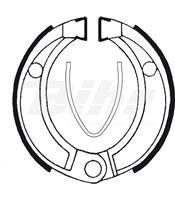 Zapatas de freno Tecnium BA043