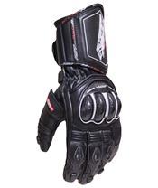 Gants RST Tractech Race CE cuir noir taille M/