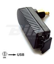 Adaptador ficha BMW/Triumph BAAS USB4 Mini DIN-USB integrado