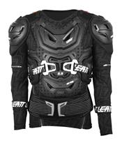 LEATT Body Protector 5.5 Protection Jacket with Sleeves in black,