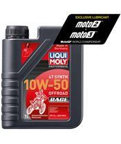 Garrafa de 1L óleo Liqui-Moly 100% sintético 10W-50 Off road Race