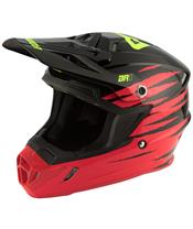ANSWER AR1 Pro Glow Helm Red/Black/Hyper Acid Größe