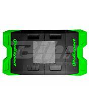 Alfombra plastica de box Polisport verde 8982200005