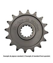 RENTHAL Front Sprocket 13 Teeth Steel Standard 520 Pitch Type 492 Yamaha