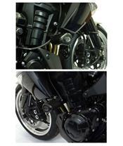 Tampons de protection R&G RACING noir Kawasaki Z1000
