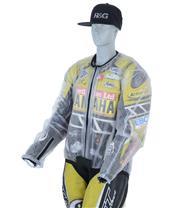 R&G RACING Racing Regenjacke transparent Größe M