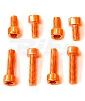 Kit parafusaria tampa reservatório Pro-Bolt alumínio TBENO laranja