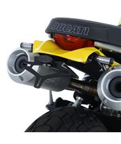 Support de plaque R&G RACING noir Ducati Scrambler 1100